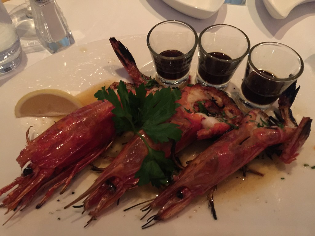 Cooked Carabineros
