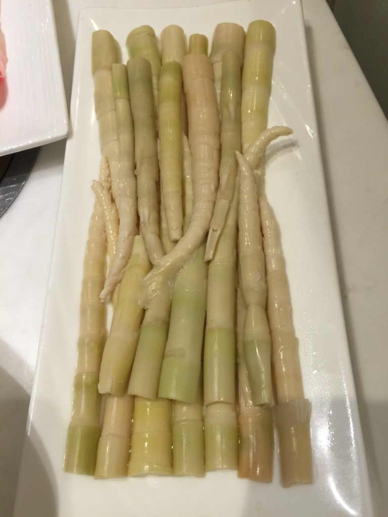 Bamboo shoots tips